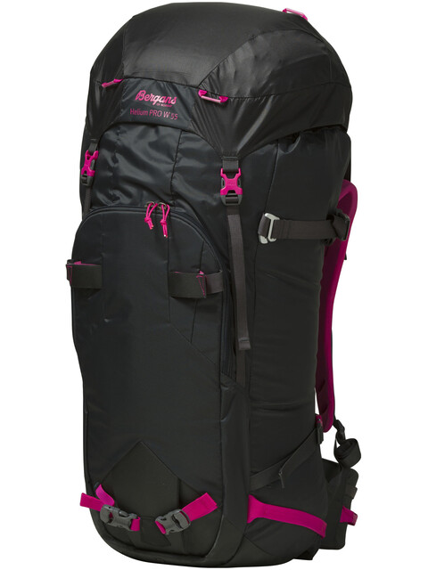 Bergans W's Helium PRO 55 Solid Charcoal/Hot Pink